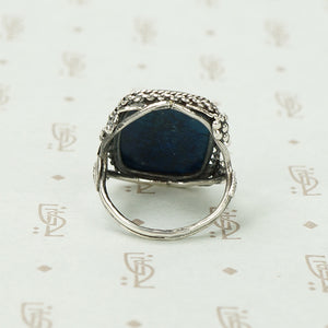 Vintage Silver Sodalite Ring