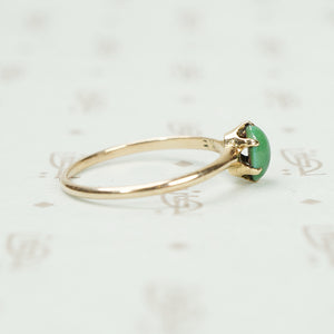 The Tiniest Turquoise 19thc Ring