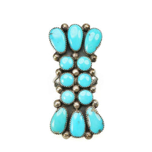 Sleeping Beauty Turquoise Ring by Julie Lahi