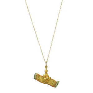 Magic carpet Gold Necklace