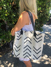 White Mud Cloth Bag