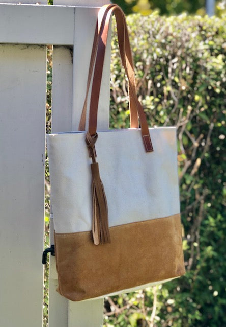 Carmel Suede Bag