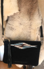 Chimayo Woven Cross Body Bag