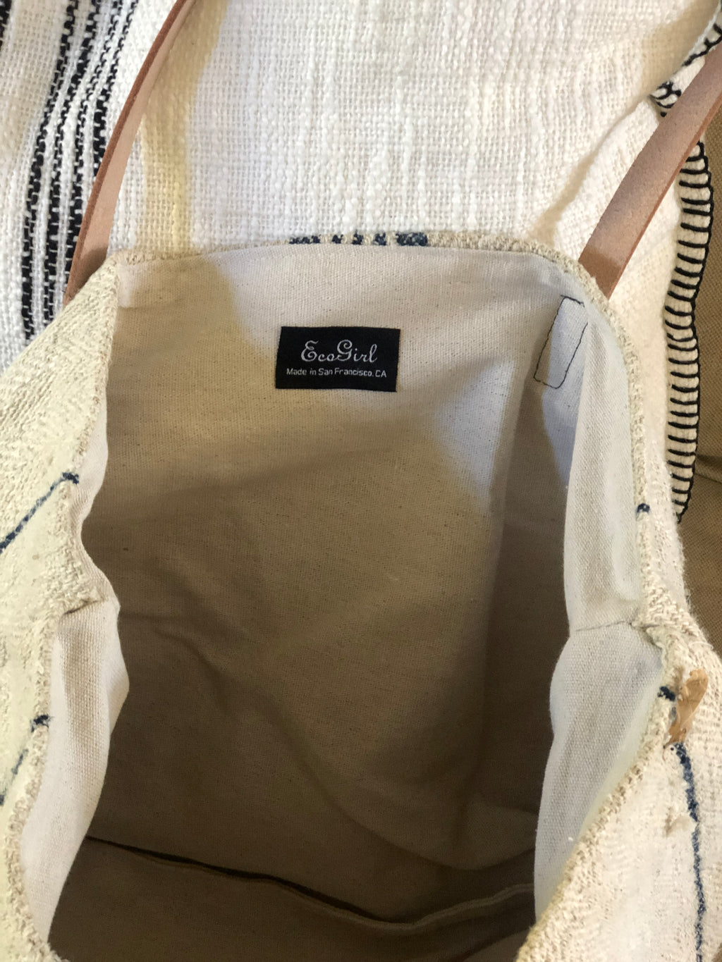 French Grain Cloth Tote