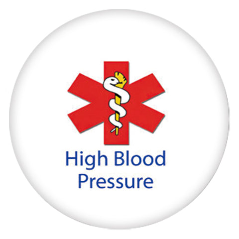 Medical Alert - High Blood Pressure