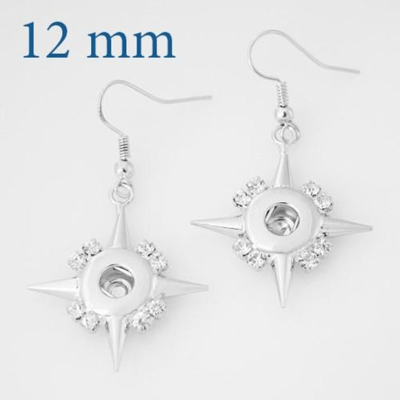 Christmas - Earrings - Bethlehem Star, 12mm