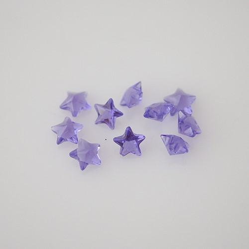 Charm - 10 Star Accents, Lavender