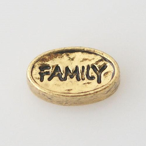 Charm - Family (gold)