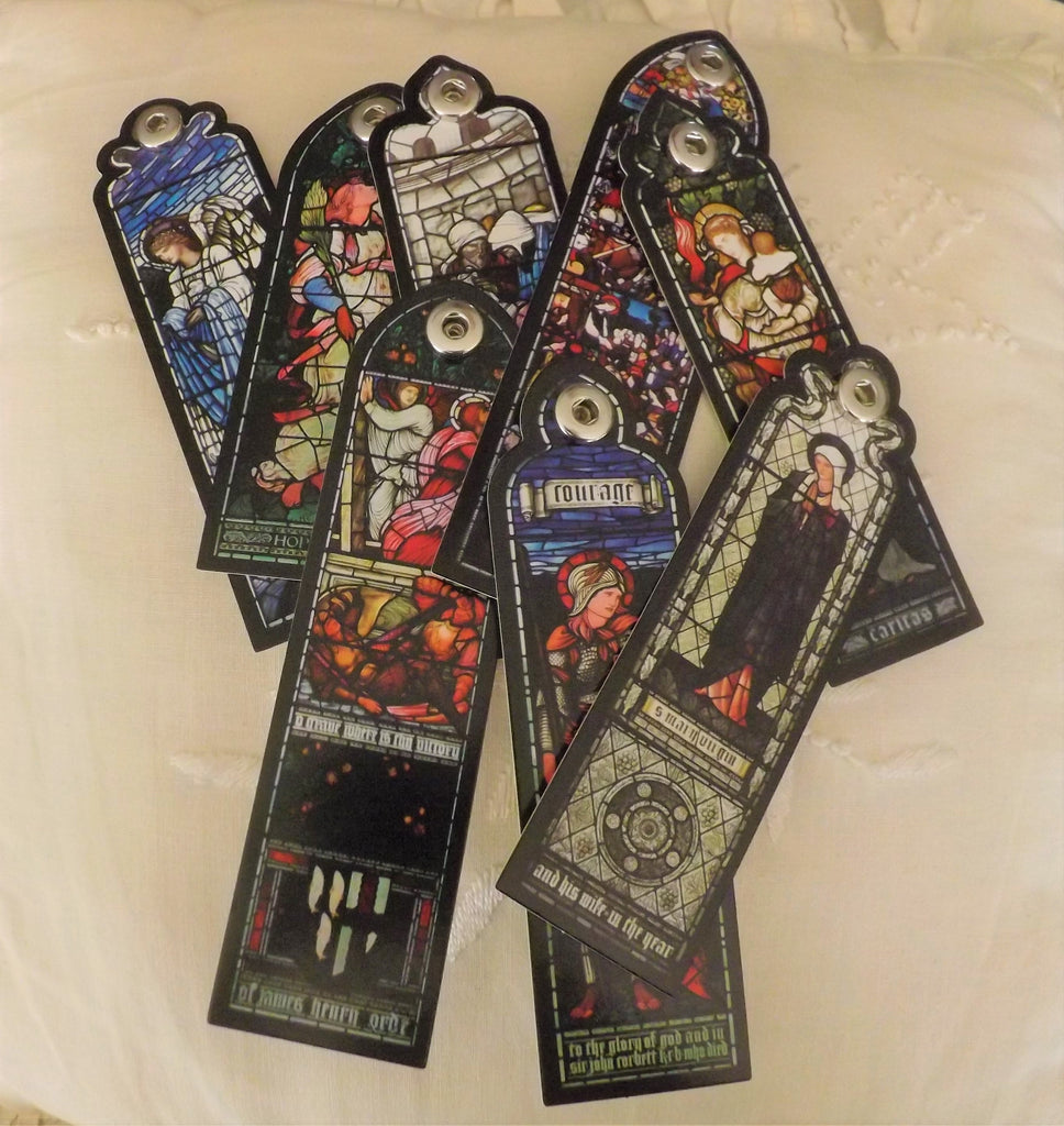 Bookmark - Church Windows