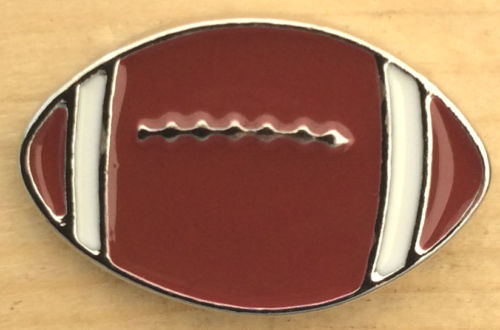 Football - Enameled