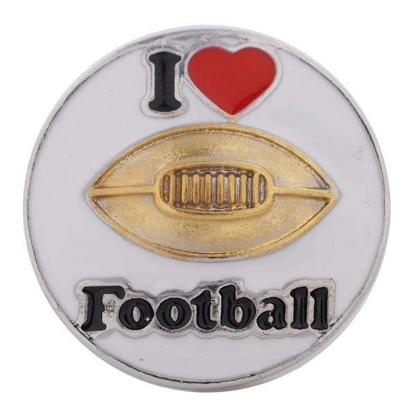 I Love Football, Enameled