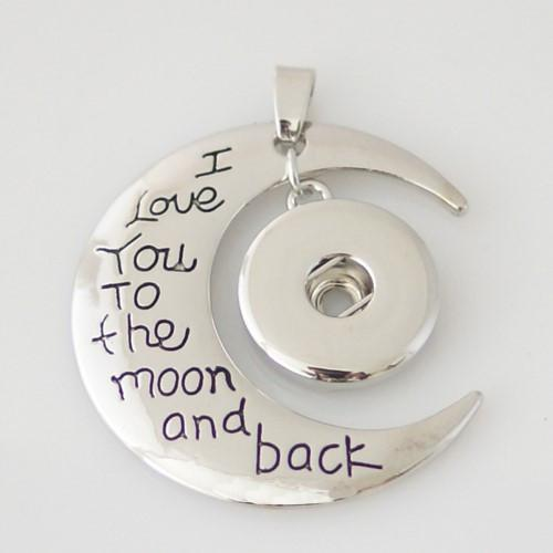 Pendant - I Love You To The Moon & Back