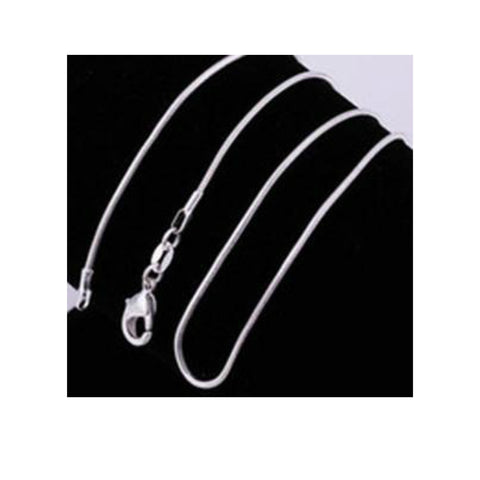 Snake Chain - Silver Plated
