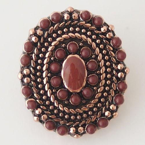 Brown - Beaded Sombrero