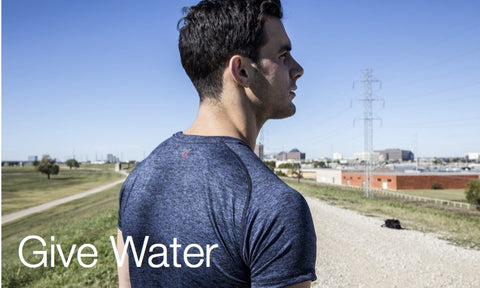 Men's eco-friendly workout shirt