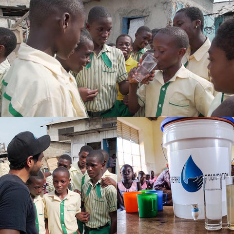 PH8 Foundtion clean drinking water nonprofit