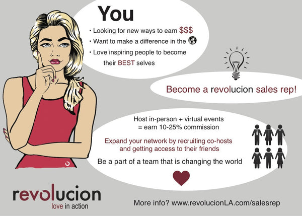 revolucion fitness apparel sales rep program