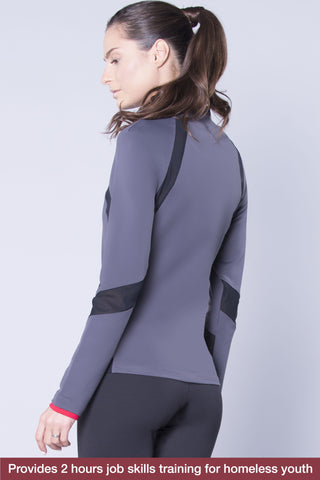 Sherry Jacket (Carbon)