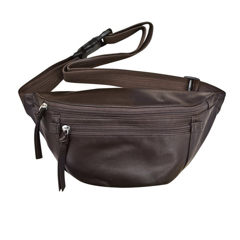 GENUINE LEATHER SMALL WAIST POUCH