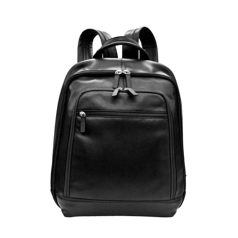 LEATHER BACKPACK WITH ADJUSTABLE STRAPS