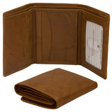 Wallet- Tri-Fold with Interior I.D. window