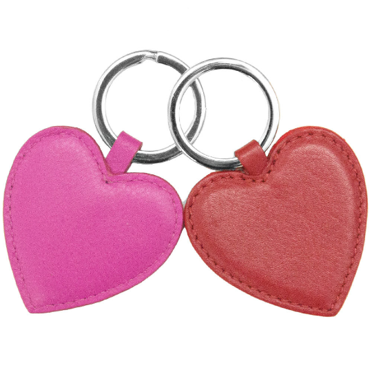 Key Ring-Heart Shaped