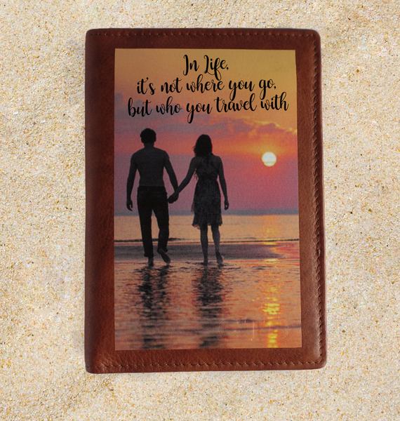 Customize your Passport Covers, Wallets, Travel Wallets with your Photos.