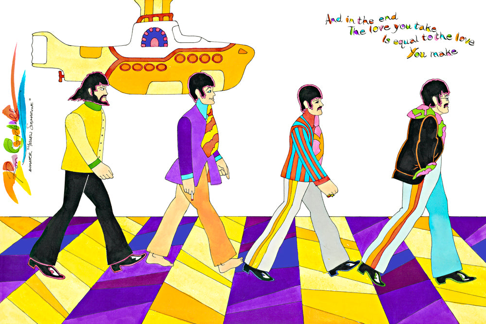 Yellow Submarine Beatles Abbey Road - Ron Campbell