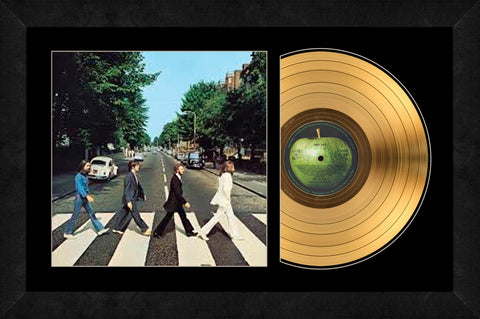 Abbey Road Gold Record - The Beatles
