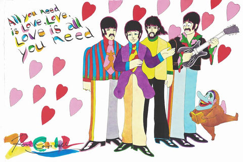 All You Need Is Love - Ron Campbell