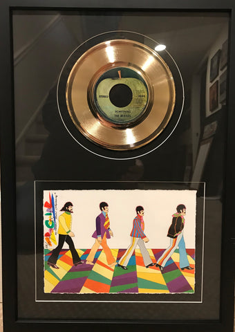 Abbey Road 50th Anniversary with Gold Record- Ron Campbell
