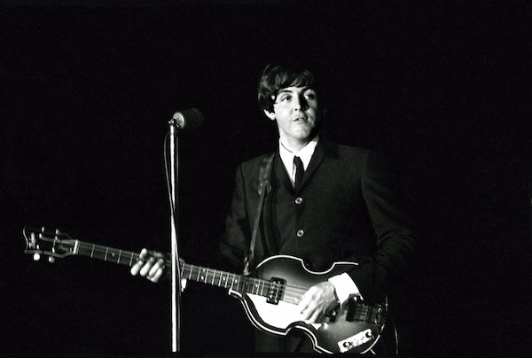 """The Hills Are Alive"" - Paul McCartney Live with the Beatles Forest Hills, NY Aug 1964"