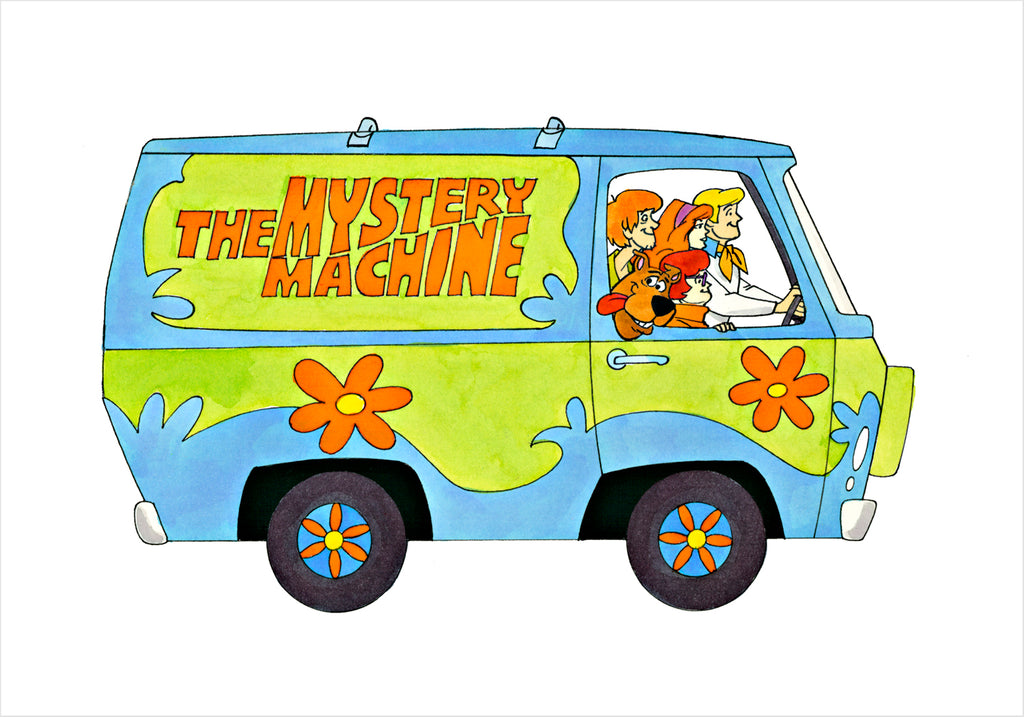 Mystery Machine - Ron Campbell