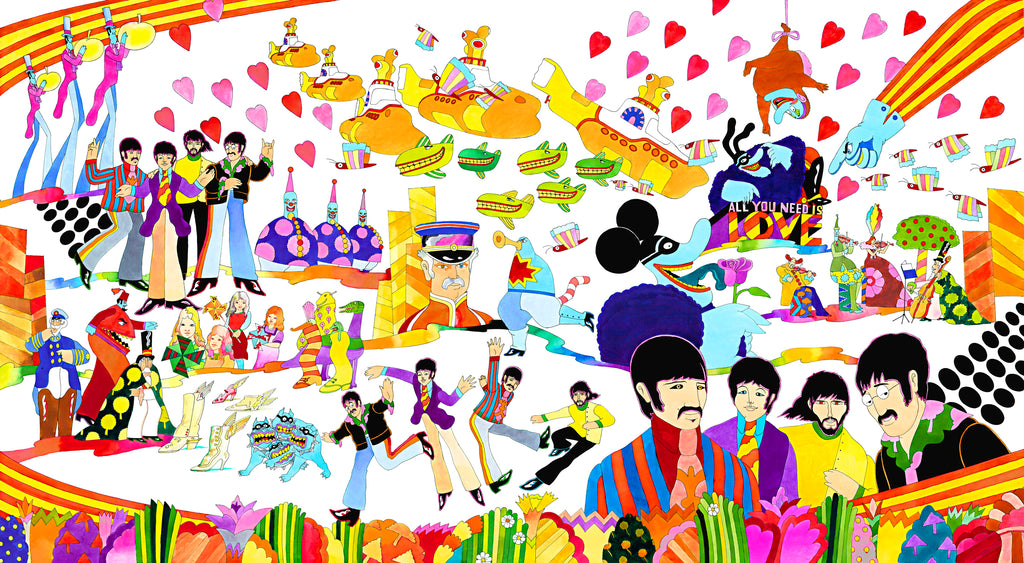 Pepperland (large) - Ron Campbell
