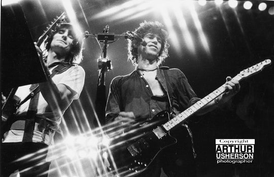 Keith Richards with Ronnie Wood - Arthur Usherson