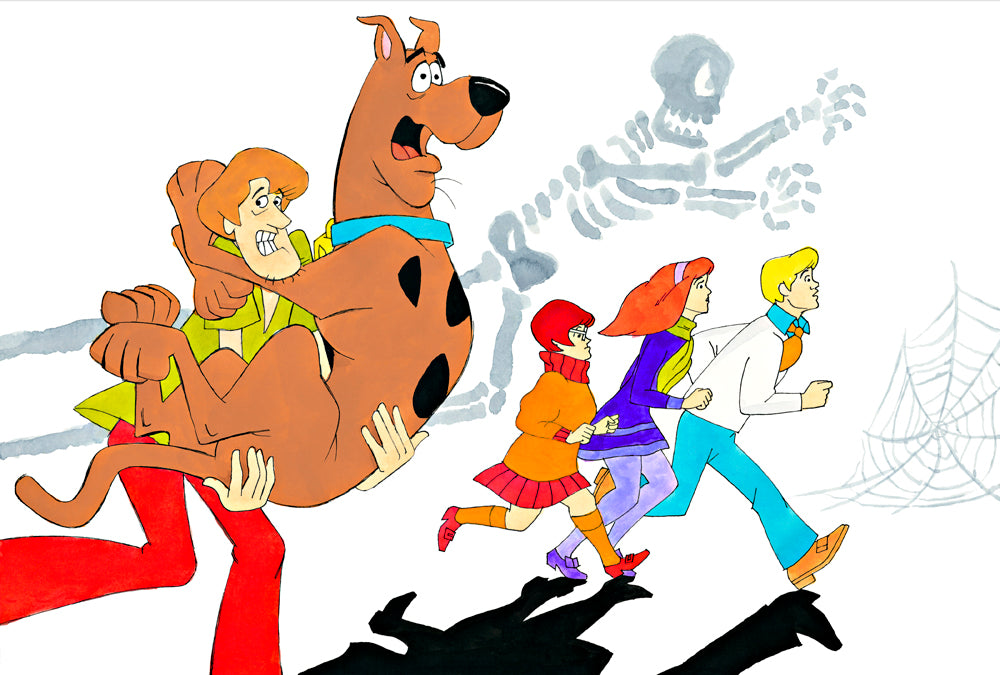 Spooked Out Scooby Doo - Ron Campbell
