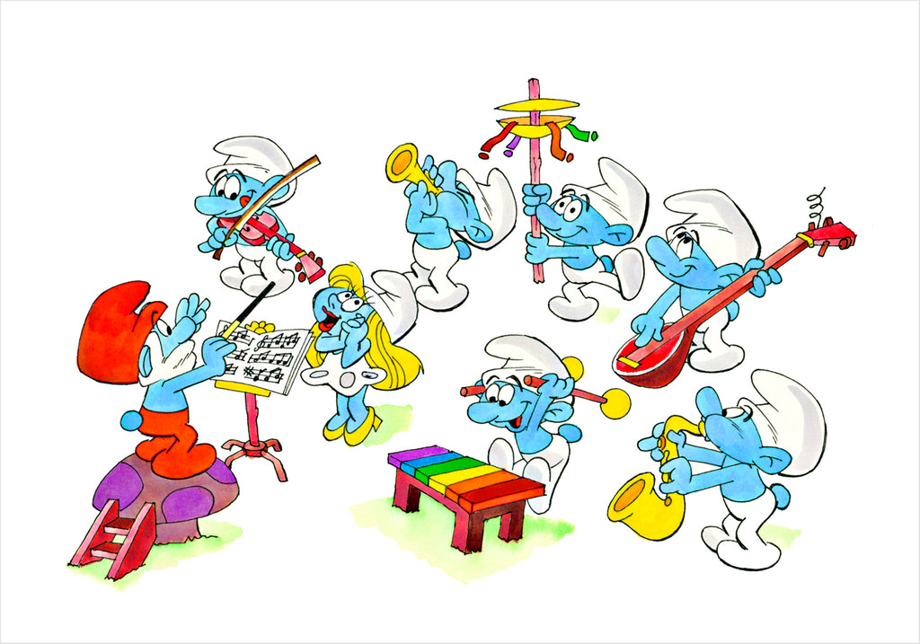 Smurf Orchestra - Ron Campbell