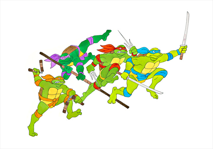 Teenage Mutant Ninja Turtles - Ron Campbell