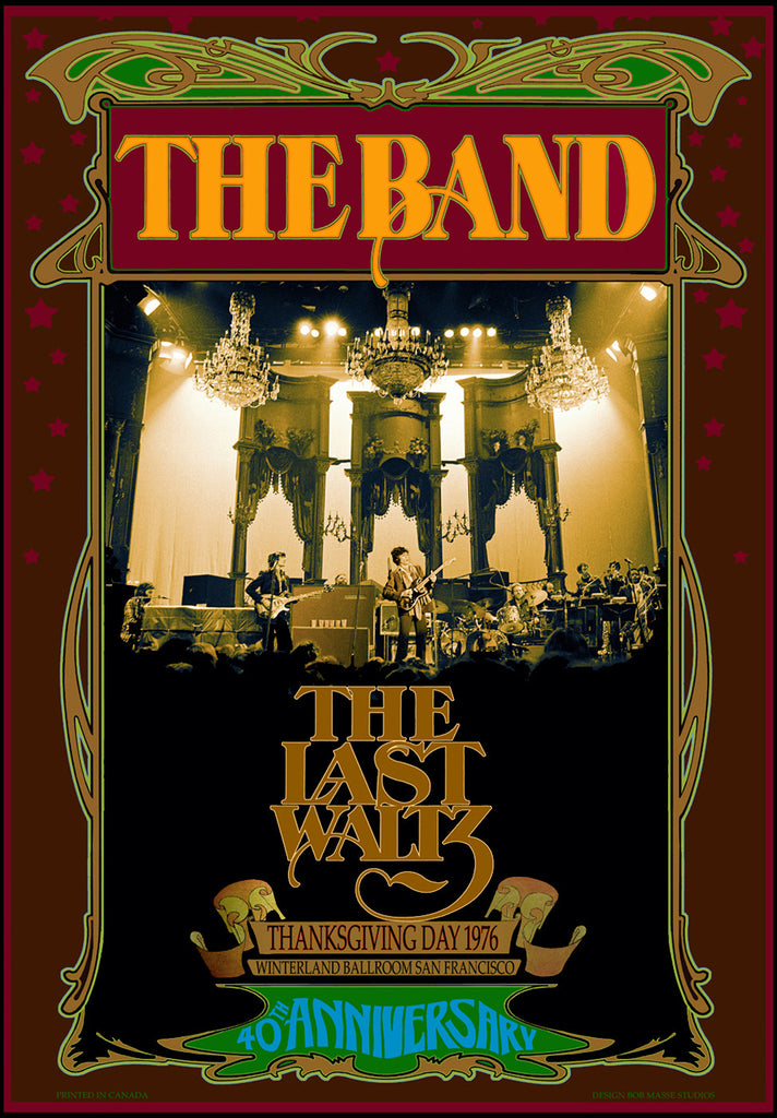 The Band Last Waltz - Bob Masse