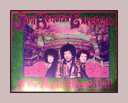 Jimi Hendrix at the Royal Albert Hall - Bob Masse