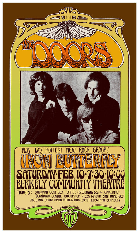 The Doors at Berkely - Bob Masse