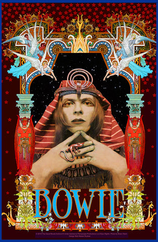 David Bowie Egyptian - Bob Masse