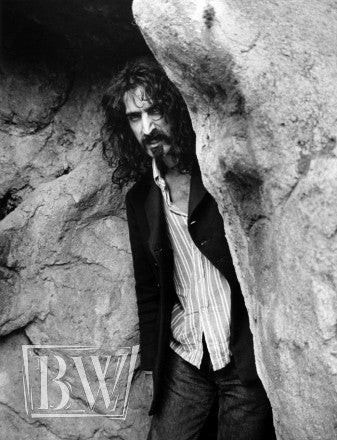 Frank Zappa in the Cave - Baron Wolman