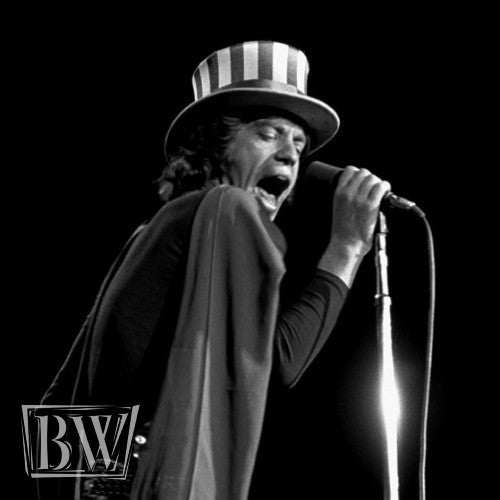 Mick Jagger in Concert - Baron Wolman