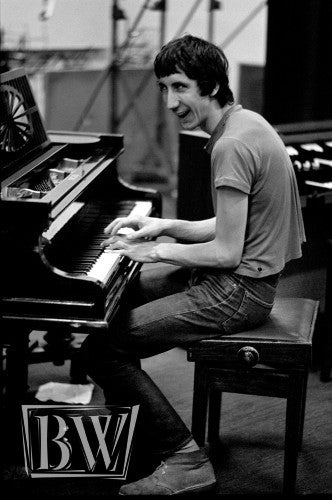 Pete Townshend at the Piano - Baron Wolman