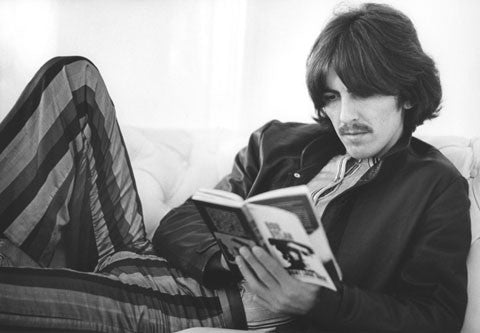 George Harrison 1968 at Apple Corps - Baron Wolman