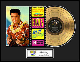Blue Hawaii Gold Record - Elvis Presley