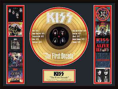 KISS - The First Decade Gold Record