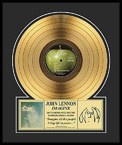 Imagine Gold Album - John Lennon