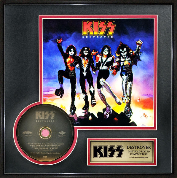 Destroyer CD - KISS